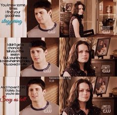 Naley working on their relationship <3