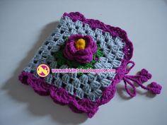 bordados, costurinhas, tricô & etc: porta agulhas de crochê e acessórios