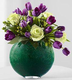 Spring Shine Rose & Tulip Bouquet