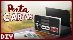 Porta Cartas do NES | DiY Geek