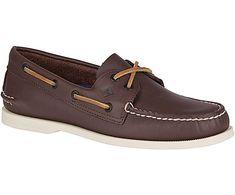 Authentic Original 2-Eye Boat Shoe, Classic Brown, dynamic