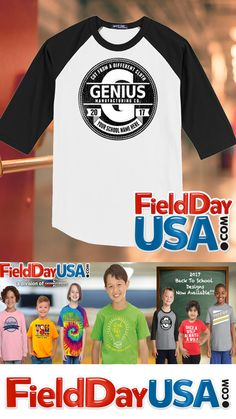 Show your school spirit with this awesome Back To School Design from FieldDayUSA.com. 4 styles to choose from #BackToSchool