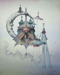 La Marche dans les airs, Daniel Merriam
