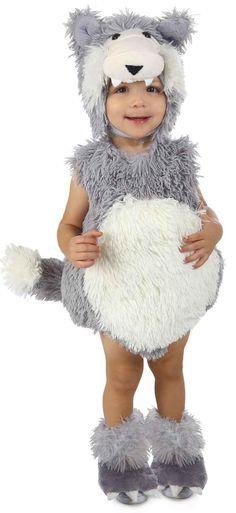 Vintage Big Bad Wolf Infant/Toddler Costume from BirthdayExpress.com