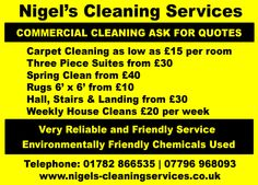Nigel's Cleaning Services