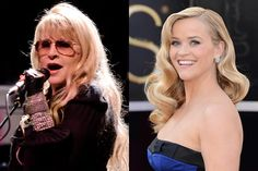 Although friends, Stevie felt Reese Witherspoon was too old to play her in a planned movie of her life.