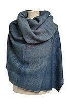 #Yak Wool Shawl#Denim Blue#Handwoven#Wool#Scarf#Maya Crafts Wool Scarf, Maya, Blue Denim, Shawl, Hand Weaving, Textiles, Crafts, Fashion, Moda