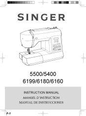 Singer 6180 Brilliance Instruction Manual 3 Singer Singer Fashion Instruction