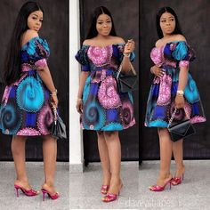 5 Dress Styles That Will Make You Look Thinner. While particular ladies wear products you see on the runway might look terrific on models, they might not look great on every woman. Short African Dresses, Ankara Short Gown Styles, Short Gowns, African Print Dresses, Dress Styles, African Fashion Ankara, Latest African Fashion Dresses, African Print Fashion, Fashion Clothes