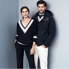 Olivia Palermo and Johannes Huebl for Tommy Hilfiger sportswear summer 2015