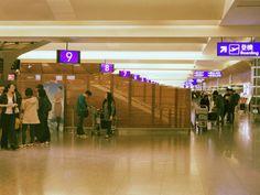 I depart 桃園国際空港