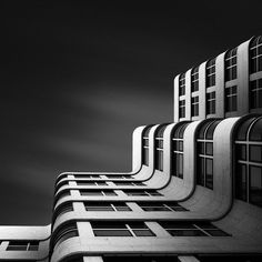 """The Shape of Light XI // The Shell Haus Berlin Joel Tjintjelaar """"Architecture is the learned game, correct and magnificent, of forms assembled in the light """" - Le Corbusier / Light shapes - shape the light. Exposure Photography, Abstract Photography, Fine Art Photography, Landscape Photography, Architectural Photography, Photography Awards, Straight Photography, Berlin Photography, Building Photography"""