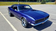 1968 Camaro RS 327. Awesome American Muscle!