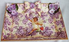 """Graphic45 Sweet Sentiments Collection - A """"Whatnot"""" Tray from The Craft Marquee 2015 SOLD"""