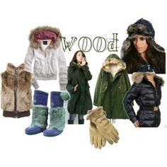 Capi e accessori per vestire l'energia Legno in inverno!