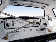 92-95 Honda Civic Hatchback 3dr Racing Rear 4 point Strut Cross Bar Kit EG EG6