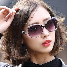 3b49ec26b3b98 IVE Óculos De Sol Das Mulheres Designer de Marca de Luxo Feminino Função  Eyewear UV400 oculos