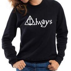 Always Hallows Women Sweatshirt (5 types)  //Price: $22.99 & FREE Shipping //     #hermionegranger #dumbledore #malfoy #jamespotter #voldemort