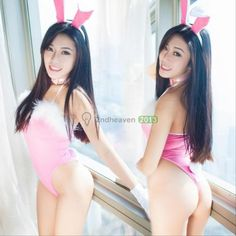 NEW-4pcs-Sexy-Lingerie-Babydoll-Teddy-Lady-Rabbit-Bunny-Halloween-Costume-Outfit
