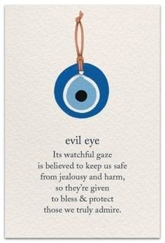 Evil eye Inside Message: Today and every day, wishing only the best for you. Witch Spell Book, Witchcraft Spell Books, Spiritual Symbols, Spiritual Awakening, Sanskrit Symbols, Spiritual Meditation, Hippie Symbols, Buddha Symbols, Positive Symbols