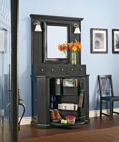 20 Fabulous Entryway Design Ideas - Decoist--Clever furniture!