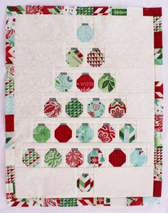 Christmas Baubles Quilt « Moda Bake Shop