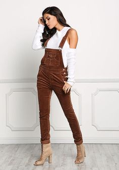 Shop Trendy Women's and Junior Clothing Denim Overalls, Dungarees, Jeans, Jean Outfits, Casual Outfits, Jumper Outfit, Casual Jumpsuit, Junior Outfits, Outfit Goals
