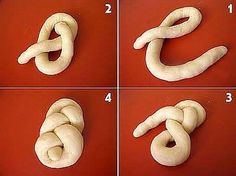 Résultat d'images pour lussekatter shapes Decoration Patisserie, Food Decoration, Pan Comido, No Carb Bread, Bread Recipes, Cooking Recipes, Bread Shaping, Bread Art, Braided Bread