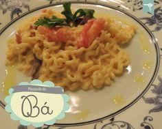 Macarrão da Bá - Molho de Bacon e Gorgonzola | Delicious Pasta Sauce with Bacon and Blue Cheese