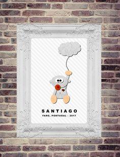 Seja bem vindo, Santiago! | Kalli Horn Illustrator