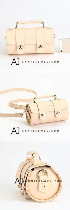 GENUINE LEATHER BUCKET BAG SATCHEL HANDBAG CROSSBODY BAG SHOULDER BAG CLUTCH PURSE FOR WOMEN #handbags