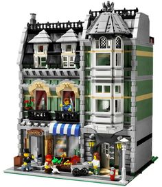 10185 Lego Green Grocer Modular Building. Released 2008.