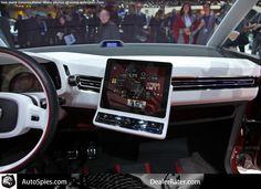 VW Bulli iPad Integration #cartech #cartechnology