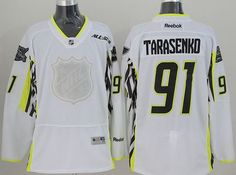 "$34.88 at ""MaryJersey""(maryjerseyelway@gmail.com) Blues 91 Vladimir Tarasenko White 2015 All Star Stitched NHL Jersey"