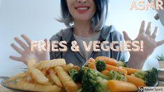 ASMR Eating Fries and Veggies   | No Talking | Joy Chew  音フェチ