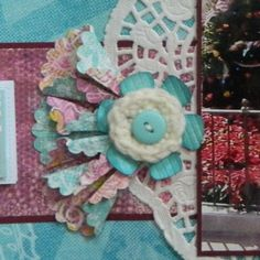 Cricut Inspired Scrapbook Layouts: Embellishment Tutorial