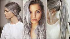 Resultado de imagem para morenas com cabelo platinado fotos