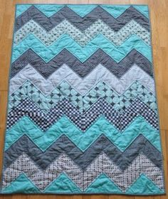 Chevron Quilt - Free Tutorial.