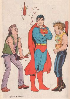Superman by Kevin Maguire and Dave Gibbons