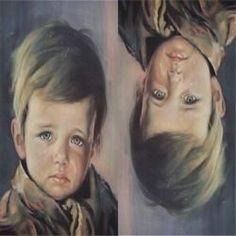 O misterioso quadro – o menino que chora