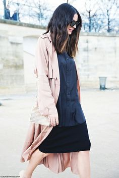 Paris_Fashion_Week_Fall_14-Street_Style-PFW-_Valentino-Trench-Black_Outfit- by collagevintageblog, via Flickr