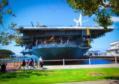 USS Midway Museum and PArk
