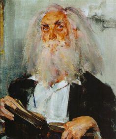 Nicolai Fechin...His style draws you towards the subjects eyes every time.