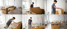 Twist Your Office Into a Bed - iCreatived