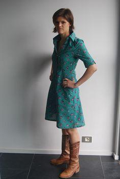 Testkleed by Needle work, via Flickr - jurk 108 uit knipmode special van oktober 2008.