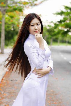 áo dài nữ sinh | Nam Hoang | Flickr