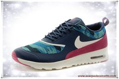finest selection ec2d8 e97be scarpe da calcetto Dark Blu   Dark Plum   Bianco 599408-461C Nike Air Max