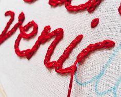 ponto corrente | chain stitch