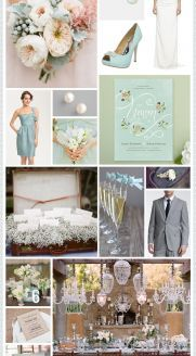 Mint + Ivory Wedding