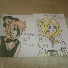 Five night at freddy's, Freddy and Chica (anime)